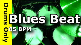 BLUES DRUM BEAT 85 BPM - Backing/Jam Track - JimDooley.net