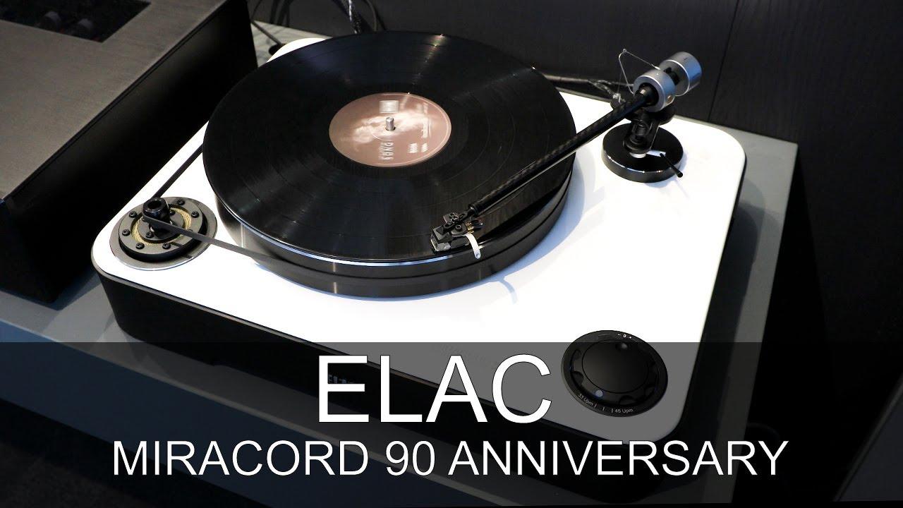 ELAC Miracord 90 Anniversary High Gloss Black