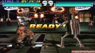 Tekken Tag Tournament - [Arcade Co-op] - P.Jack & Gun Jack Playthrough 1/2