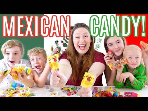 Trying Mexican Candy!