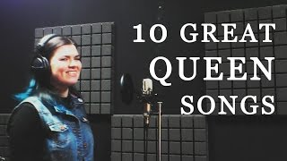 10 GREAT QUEEN SONGS by Olya Yarulina