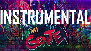 Gambar cover MI GENTE - J BALVIN INSTRUMENTAL [FREE DL] - BEST VERSION