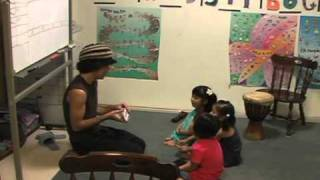 Teaching Kids English Using Right Brain Sequencing Through Drumming 1