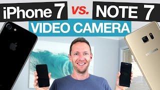 إختبار جديد: كاميرا الـ Galaxy Note 7 تتفوق على كاميرا الـ iPhone 7 في تصوير الفيديوهات