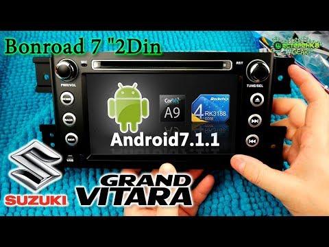 Обзор 2Din Android магнитолы Bonroad для SUZUKI Grand Vitara 2007-2013