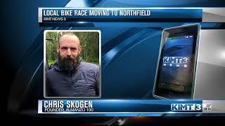 Local bike race moving