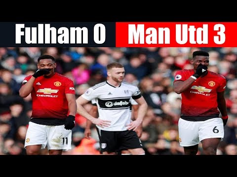 Fulham 0 Man Utd 3 | Outclassed by Manchester United | Premier League