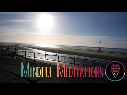Mindful Meditation: Beautiful Beach