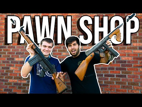 FINDING The CRAZIEST Pawn Shop ITEMS! Kendall Gray VS ME!