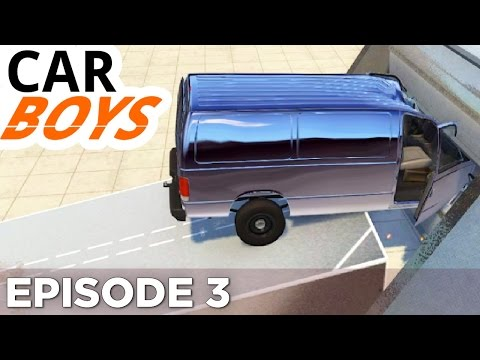 Nick and Griffin Chew Up Some Cars — CAR BOYS, Episode 3
