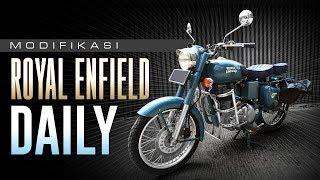 Gaya Modifikasi Harian Motor Royal Enfield