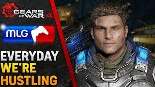 Everyday We're Hustling (Gears of War 4) MLG Multiplayer Gameplay