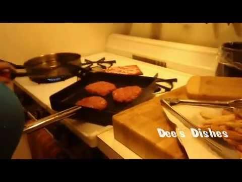 how to make homemade burgers