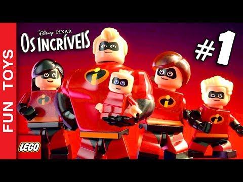 🔴 NOVA SÉRIE - LEGO OS INCRÍVEIS #01 - Primeiro Gameplay deste jogo INCRÍVEL - em português - PT-BR