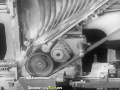 ❤HOW IT WORKS  Old Typesetting Machines   Full Documentary 720p HD