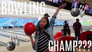 VLOG: ICE CREAM AND BOWLING | Nicole Laeno