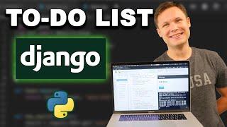 Python Django Tutorial - Build a TODO List App for Beginners