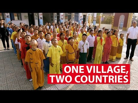 One Village, Two Countries, No Border | The New Silk Road | CNA Insider