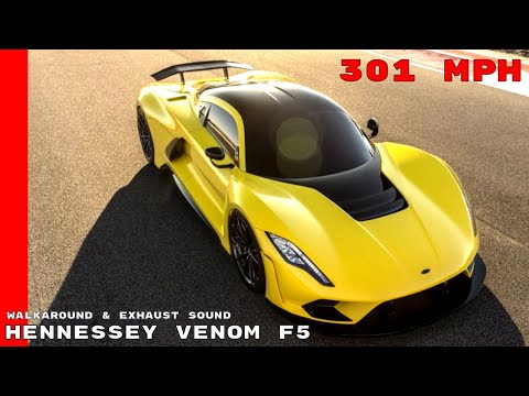 Hennessey Venom F5 Walkaround & Exhaust Sound