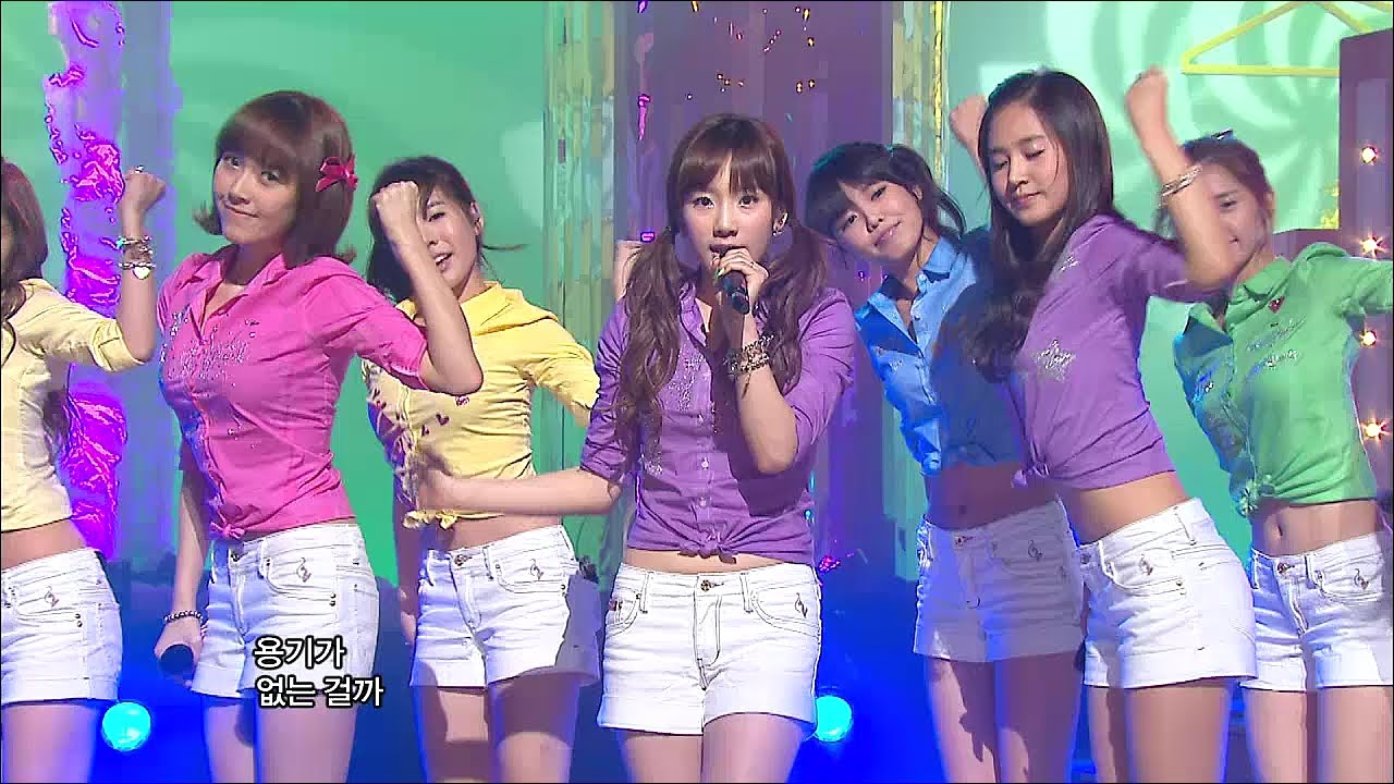Tvpp Snsd Gee 소녀시대 지 Goodbye Stage Show Music Core Live Youtube