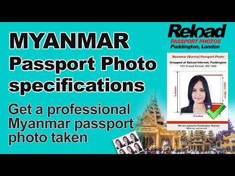 Get Your Myanmar Passport Photo And Visa Photo Snapped In Paddington, London