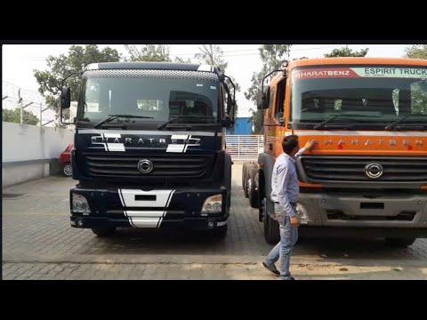 Bharat Benz(Mercedes Benz) 3123 R Full View Truck