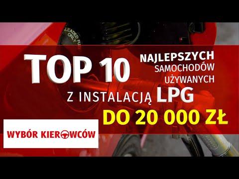10 najlepszych aut do LPG do 20 tys. z MOTOR UYWANE