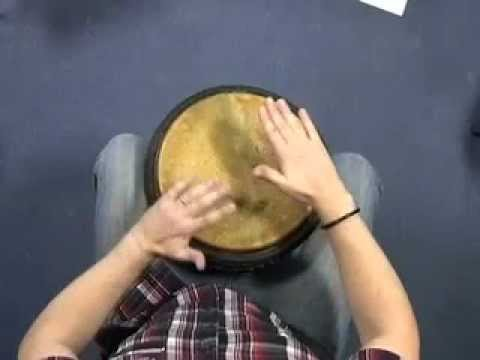 Part 1 Beginner African drumming (djembe) lesson - YouTube