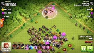 unbelievable loot without defence and without wall in clash of clans(coc)
