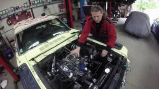 démarrage moteur mustang 1966
