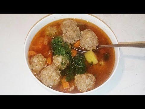 Таджичка готовит Суп Тефтелки из доступных продукты ХУРОКИ БОЛАЗЗАТ ТИФТЕЛ АЧОИБОТ ТАДЖИЧКА ГОТОВИТ