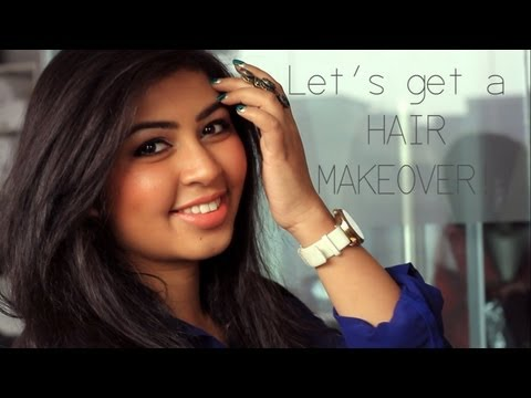 Let's get a Hair Makeover! [c/o Lakme Absolute Salon, Expert Stylist: Vineet Bediyar]