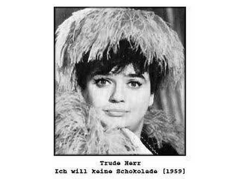 Trude Herr - Ich will keine Schokolade (1959)