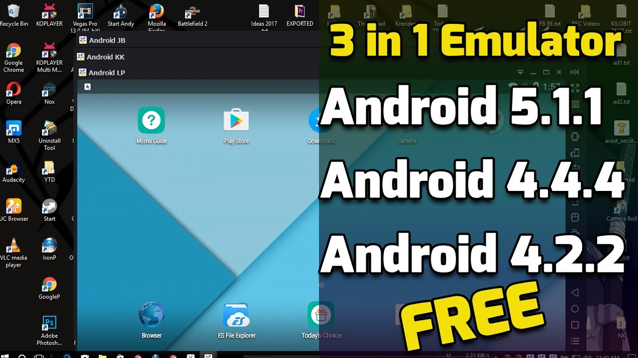 number 1 android emulator for pc