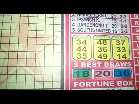 Week 47, 2019 Aussie Football Pools Sure Banker Pair - YouTube