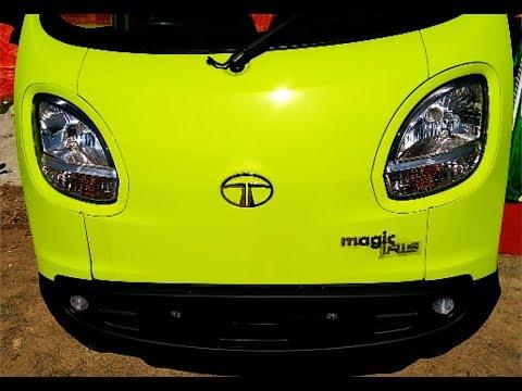 Tata Magic Iris MUV Complete Review including Engine, mileage, price, features
