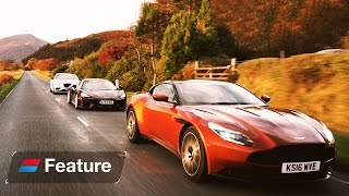 The Great British Grand Tour: Aston Martin DB11 vs Bentley Continental GT vs McLaren 570 GT