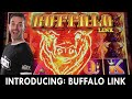 🔴 PREMIERE of 2021's NEWEST Slot Machines including BUFFALO LINK!!