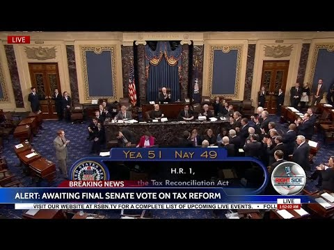 🚨Historic: U.S. Senate Passes Trump Sweeping Tax Reform Bill 51-49