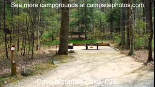 Cave Mountain Lake Campground, Jefferson National Forest, Virginia