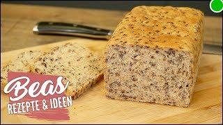 Kleines Leinsamenbrot Rezept  Brot backen