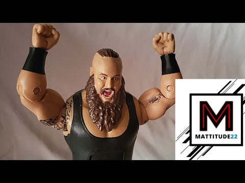 WWE Elite Top Talent Braun Strowman Mattel Figure Review