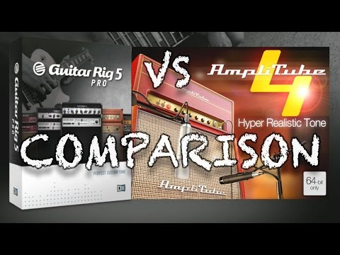 Guitar Rig 5 vs Amplitube 4 [JCM 800 - JC120 - Bassman - AC 30]