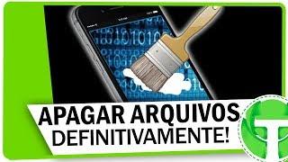 Como APAGAR ARQUIVOS DEFINITIVAMENTE no celular ANDROID (impossível recuperar!)