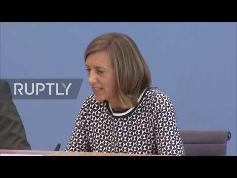 Germany: Merkel 'doing well' despite shaking incident – Govt. spox.