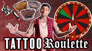 TATTOO ROULETTE (Tattoo Game Show) ft. JC Caylen thumbnail
