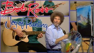 Bob Ross: The Joy of Painting Theme   (Interlude by Larry Owens)   Split Screen Instrumental Cover