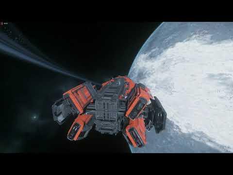 Star Citizen 3.8.0 PTU wave 1 Gameplay #003 Argo Mole fun with friends 1/2 (Hun)  (2560x1440)