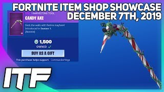 Fortnite Item Shop *RARE* CANDY AXE IS BACK! [December 7th, 2019] (Fortnite Battle Royale)
