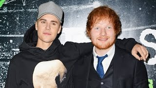 Ed Sheeran Drunkingly Hit Justin Bieber with a Golf Club in the Face